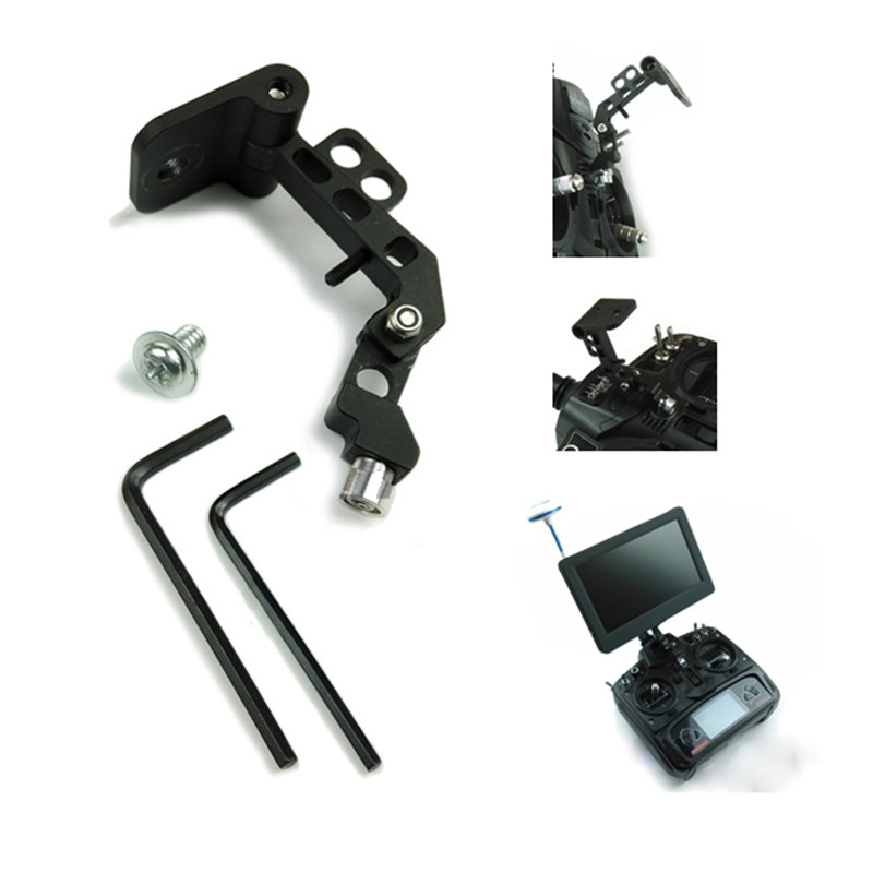 2016 High Quality FPV Display Monitor Mount Holder RC Holder Bracket Supporter For RC Transmitter RC Helicopter Part fpv display mounting bracket metal holder shortcut for dji rc transmitter