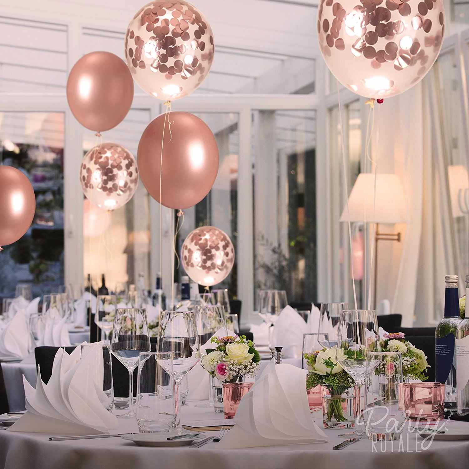 Balloon Wedding Decorations Ideas: Detail Feedback Questions About ZLJQ Rose Gold Latex