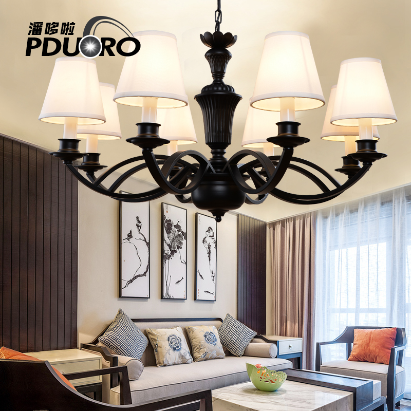 Modern ceiling chandelier lamp minimalist living room bedroom villa lights Dec lampara de techo Hotel Restaurant lighting fixtur