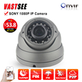 2MP POE  ip camera 1080P ONVIF 2.4 room dome sony imx323 sensor indoor vandalproof 36IR 2.8-12MM zoom lens cameras de seguranca