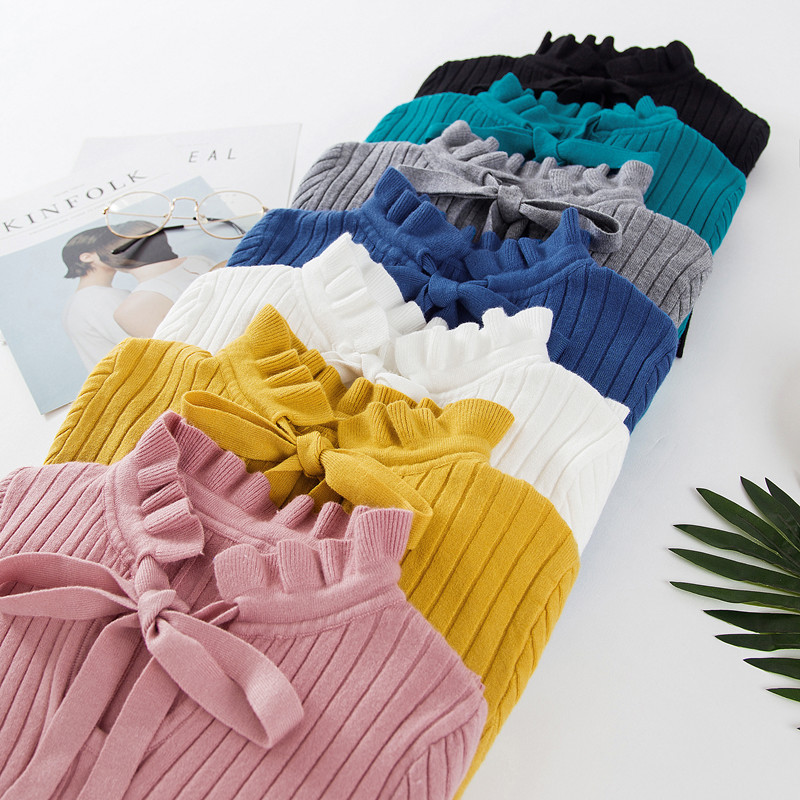 19 new fashion Slim Knitted Sweater Female Long Sleeve Autumn Sweater Womens Pullovers Sweaters Winter Sweater Women 4