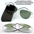 Rim-menos polarizada homens óculos de sol óculos ultra light driver tac reforçada polaroid polarizada uv400 óculos de sol com cartão de teste