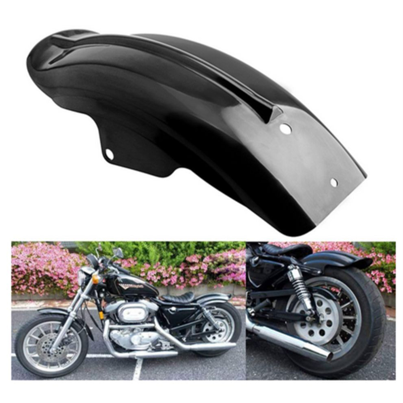 Motorcycle Superior Rear Mudguard Fender Accessory Fit 1994-2003 Harley Sportster 1200 XL Model AS 883 1200 Scooter Mudguards