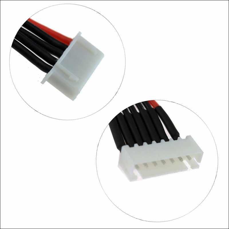 10 шт. Lipo Батарея баланс Зарядное устройство кабель 11 см 2 s 3 S 4S 5S 6 S 22AWG кабель мягкий силиконовый провод разъем для IMAX B3 B6