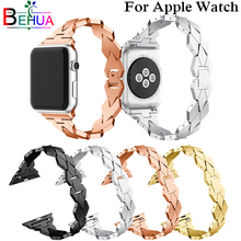 New mode pour femme Bracelet For iWatch 38mm 42mm 44mm Aluminium Alloy Apple Smart Watch Band Strap Wristband