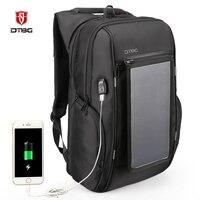 17,3 Эсколар рюкзак непромокаемый большой ёмкость Smart дорожные сумки панели солнечные Mochilas зарядка через usb Rugzak Mochila Sac