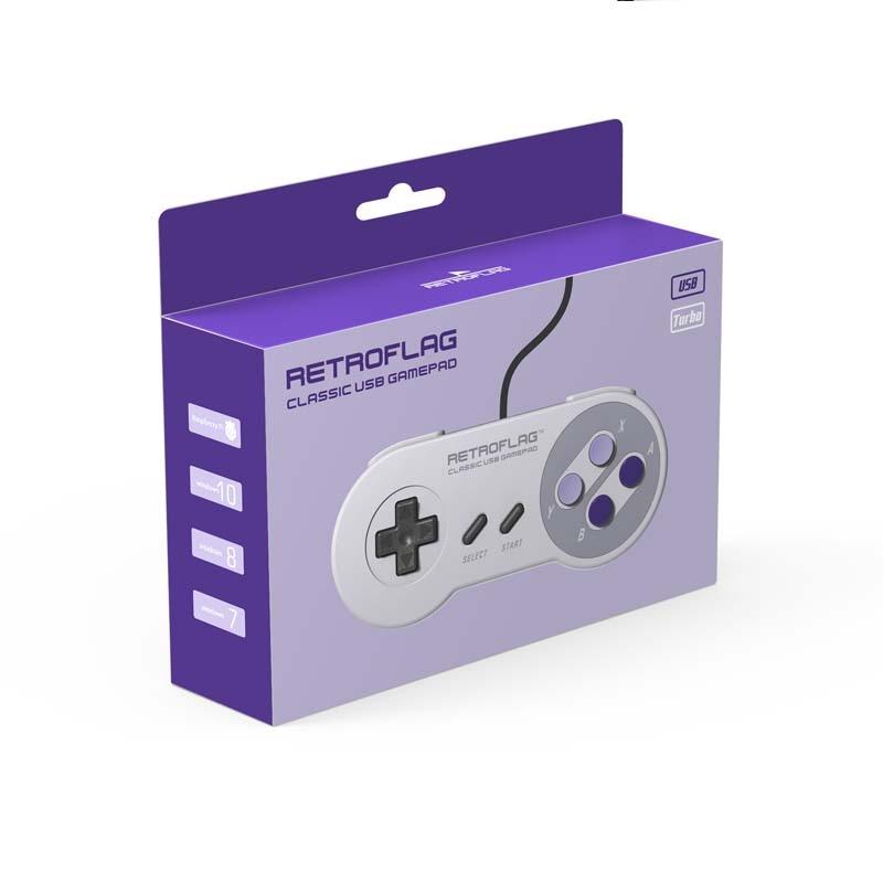 Retroflag Original USB Gamepad SUPERPi Game Controller for SUPERPi CASE-U   CASE-J   NESPi Case   Raspberry Pi