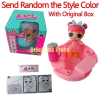 4 PCS Lot LOL Surprise Doll Magic Funny Removable Egg Ball Doll Toy Educational Novelty Kids