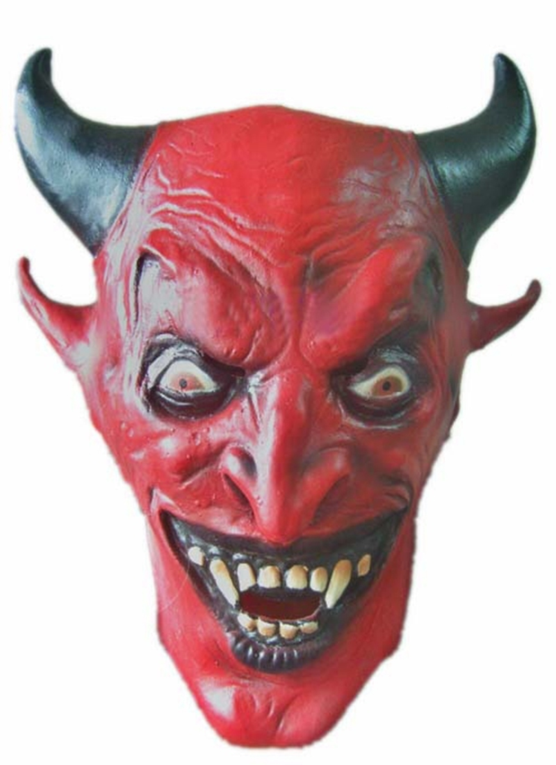 scared masks cool crazy killer party mask halloween face fool party masks head latex creepy joker - Cool Masks For Halloween