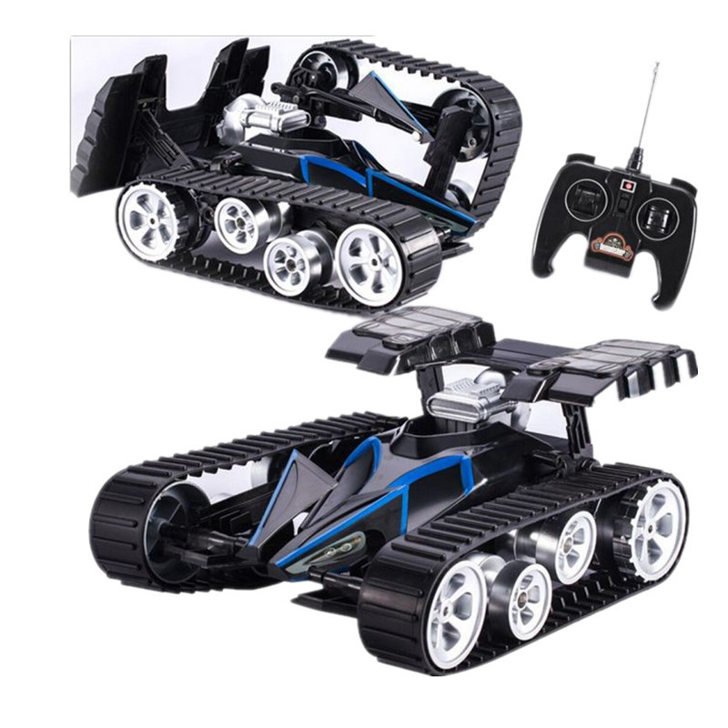 Hot New RC Tank Infrared Battle Remote Control Rotate Fighting Car High Quality Models Toys for Kids infrared remote control rc black
