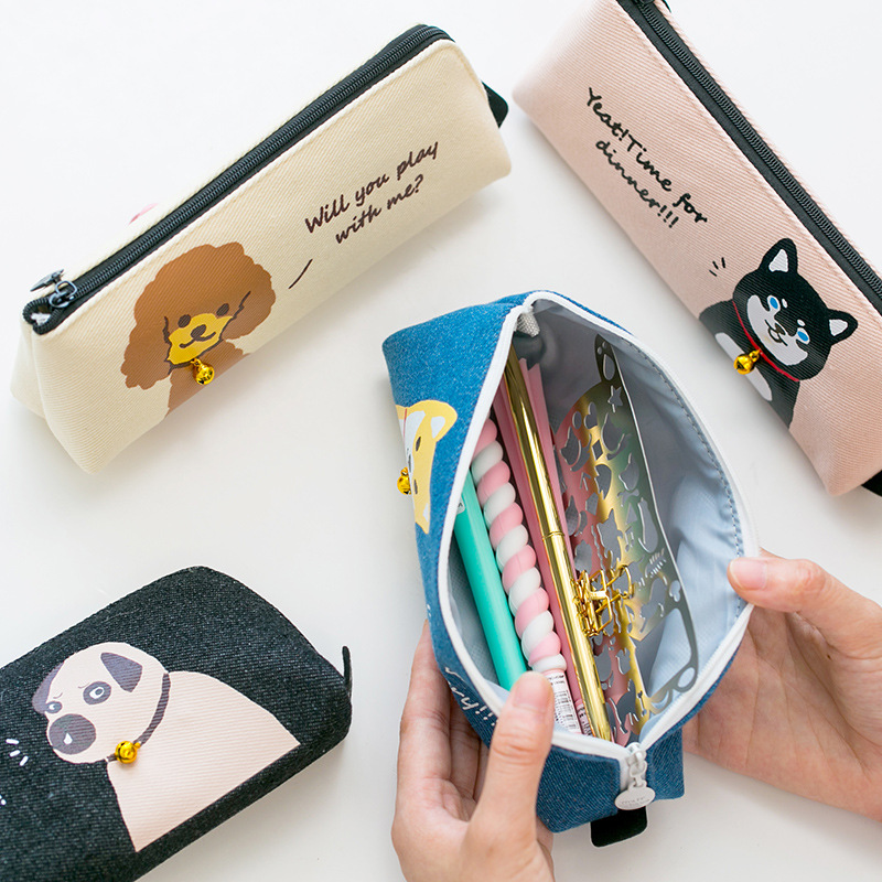 Well-Educated Cartoon Punk Gothic Girls Coin Purse Pencil Holder Kids Gift Bag Children Case Boys Girls School Supplies Cases Makeup Bags Luggage & Bags Coin Purses