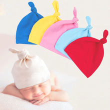 Baby Hats Children's Cap Girl Cotton Soft Panama children Clothing Accessories A Cap For A Boy Newborn Photography Props(China)