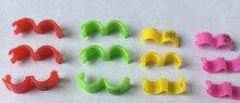 Frete grátis 100 pc 2.7 milímetros 3mm 4 milímetros 4.5mm5mm numeradas 1-100 anel clipe para canário