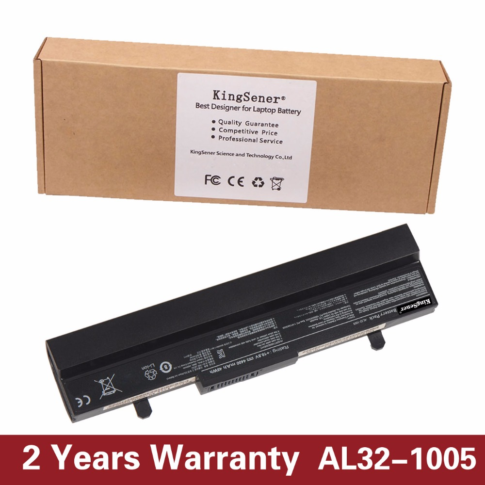 10.8V 4400mAh KingSener AL32-1005 Battery for ASUS Eee PC 1001HA 1005HA 1005 1005H 1005P 1005HE AL31-1005 ML32-1005 PL32-1005 appella 484 1005