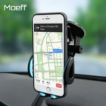 Moeff Универсальный Автомобильный держатель для мобильного телефона Стенд сотовый монтажный зажим для телефона в автомобиль для iphone 7 Plus Поддержка смартфон Voiture