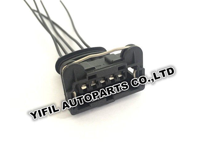 10pcs/lot 5 Pin/Way Tyco/Amp Ignition Amplifier Plug Harness Auto ...