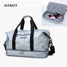 ALLKACI Large Women Casual Travel Bags Capacity Bag Hand Luggage Waterproof Nylon Shoulder Handbag 5051