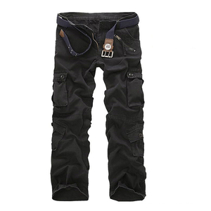 Image 3 - Mens Multi Pocket Casual Camouflage Pants Men Military Cargo Pants Washed Trouers Loose Pants For Men New Arrival