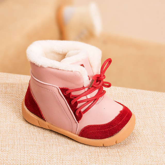 ca0e6ae5f50 Phynier Winter children s cotton boots 1-3-4 year old girls boots men baby  function learning shoes warm boots