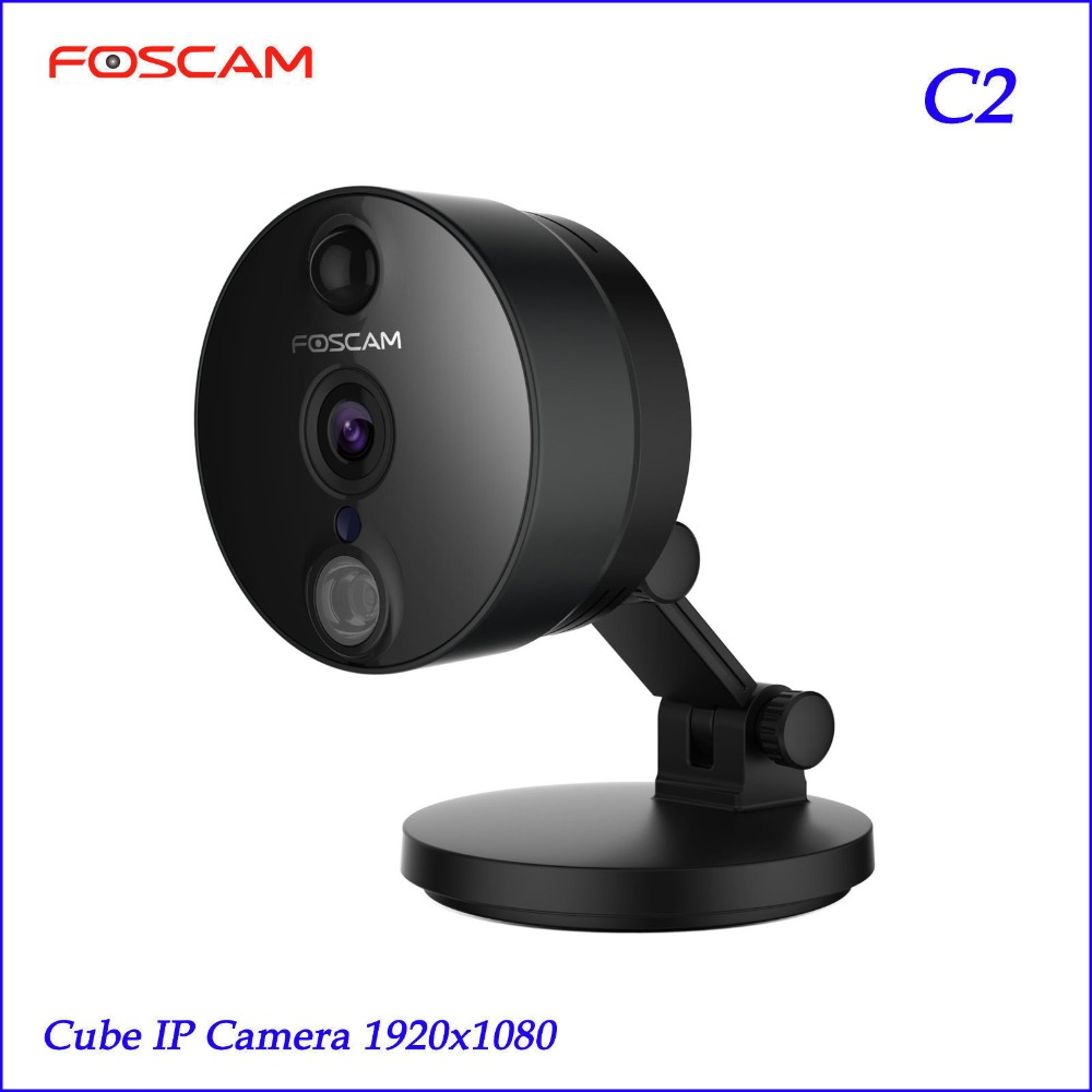 2018 Foscam C2 HD 1080P WiFi Security IP Camera with iOS/Android App Night Vision PIR Motion Detection Black детская игрушка new wifi ios