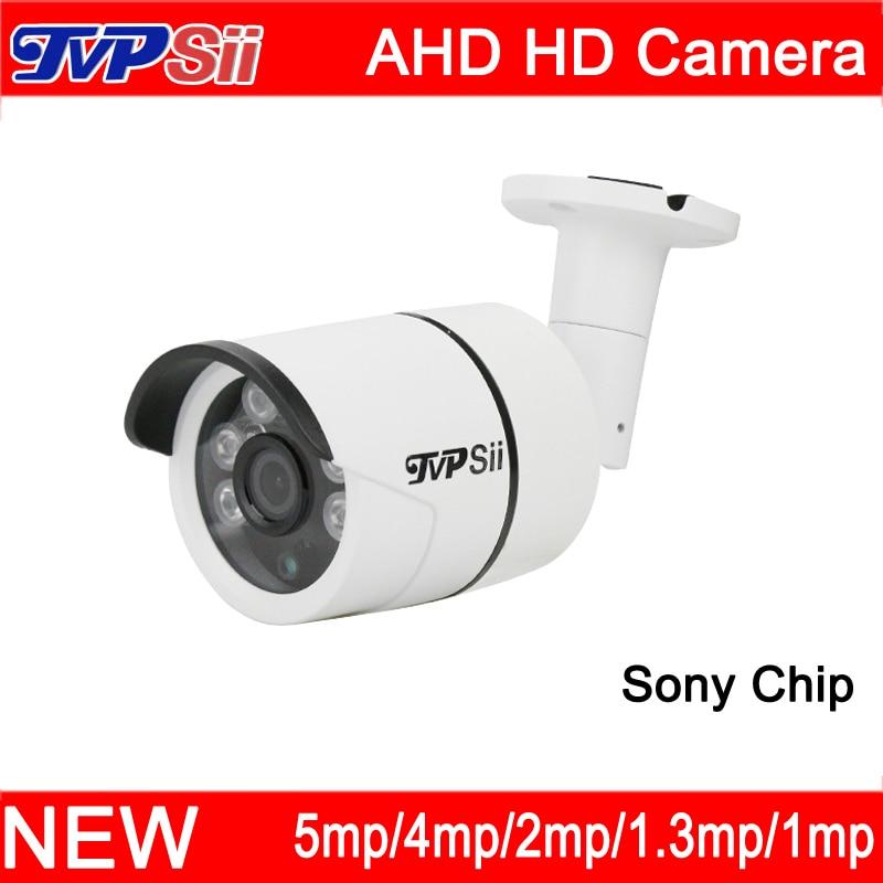 4 stücke Viel Sechs Array Leds 5mp/4mp/2mp/1.3mp/1mp Outdoor Sony Chip Wasserdicht überwachung AHD Sicherheit CCTV Kamera Freies Verschiffen