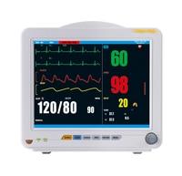 Portable ICU Patient Monitor Pulse Rate Blood Pressure Temperature Oximeter Health Care Medical Equipment YK8000C Monitor