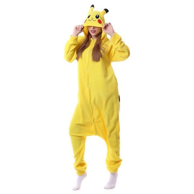 Unisex Kigurumi Pyjamas Cosplay Costume Onesie Sleepwear Homewear Pajamas Party Clothing Anime Pokemon Master Espeon pikachu