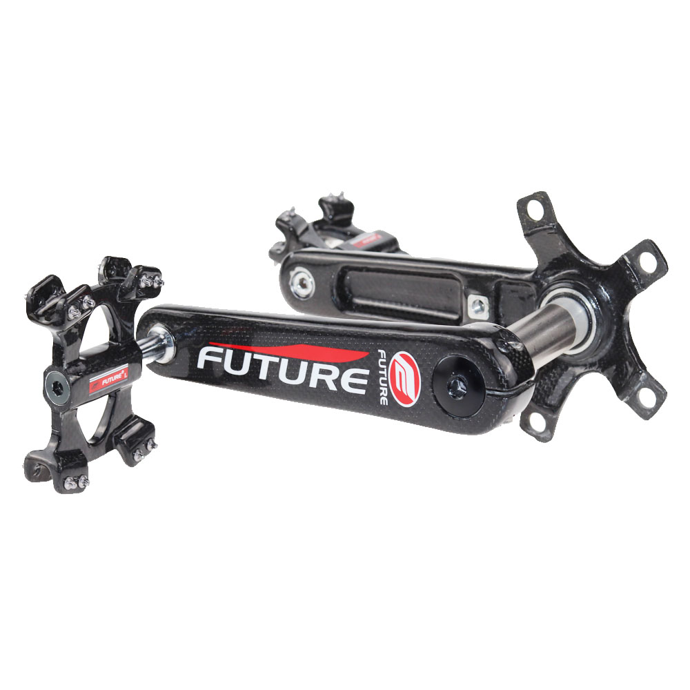 Future Full Carbon Fiber Bicycle Pedal With Road Carbon Crankset 5 Catches Bike Chainset With Carbon Pedal new fsaeaston carbon fiber bicycle parts about a pair of pedal