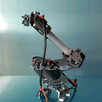 Mechanical Arm  6 Freedom Manipulator With Large Ball Bearing Abb Industrial Rrobot Model Six Axis Robot 2 ABB1 industrial robot 3d rotate mechanical arm alloy manipulator 6 dof robot arm rack with 996 servos 1 alloy gripper controller