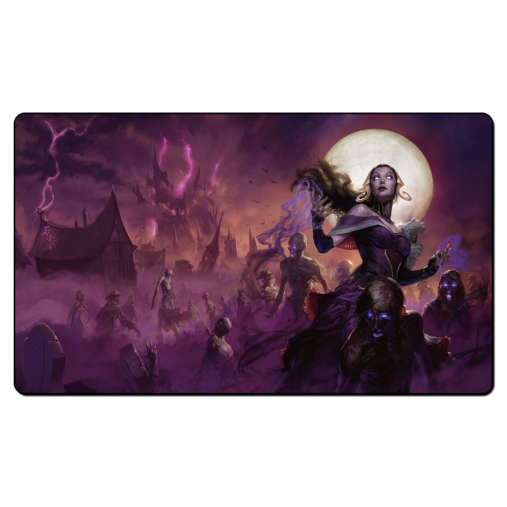 ( Liliana The Last Hope) Playmat Magic Game Pad,Board Games The Pad Play Mat,Custom MGT Table Pad 35X60CM with Free Bag