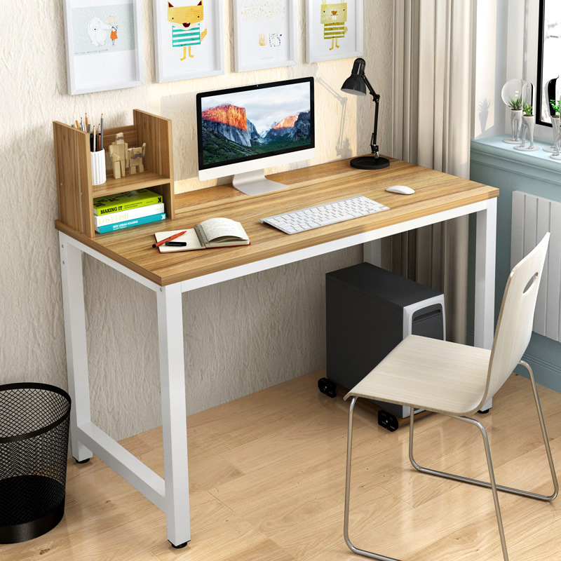 Simple Modern Office Desk Portable Computer Home Furniture Study Writing Table Desktop Laptop In Desks From On