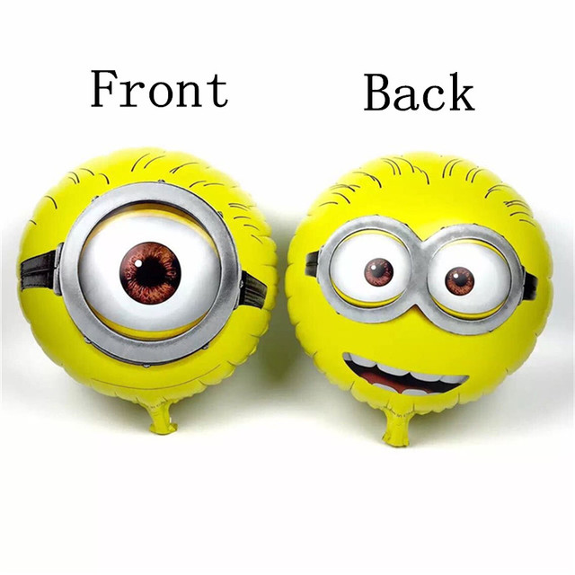 Cute Despicable Me Minions Balloons for Birthdays
