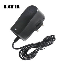 8.4V 1A Charger 7.4V 18650 110 220V Lithium Battery Charger DC 5.5 * 2.1mm EU/US Plug 18650 Lithium Polymer Battery Charger
