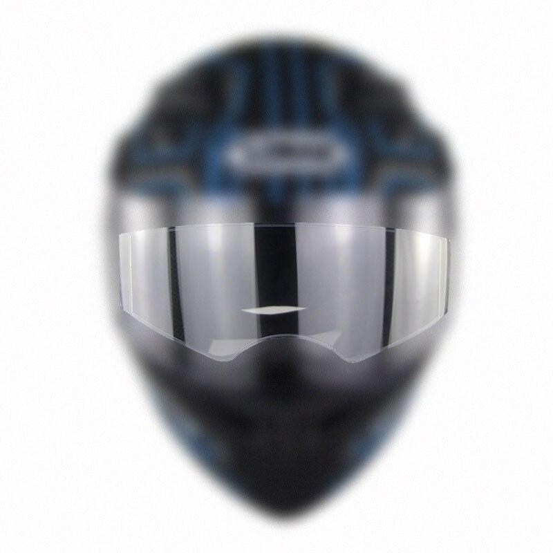 Противотуманные накладные козырьковые линзы для мотоциклетного шлема, универсальные очки для мотокросса, гоночного мотора, линзы, противо...