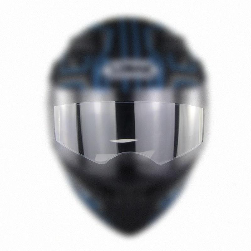 Anti-nevoeiro remendo viseira lente da motocicleta completo openface capacete genérico motorcross óculos de corrida do motor lente anti-fog filme r26