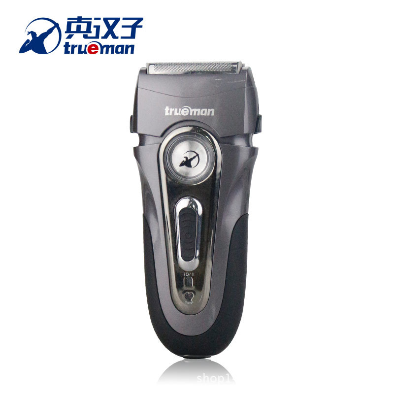 Trueman New Arrival Men's Electric Shaver Rechargeable Reciprocating Opposite Moving Blades Beards Timmer Men Face Use RSCW-8102