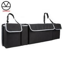 Органайзер для багажника автомобиля, регулируемая сумка для хранения на заднем сиденье, большая вместительность, многофункциональные органайзеры на заднем сиденье автомобиля Oxford CTOB02