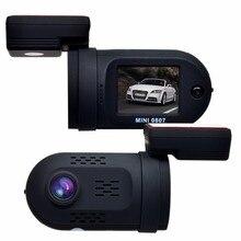 Mini 0807 HD 1080 P GPS Dell'automobile DVR DashCam Video Auto Registrator Recorder W/Condensatore Dual Memory Solt OBD parco Guardia