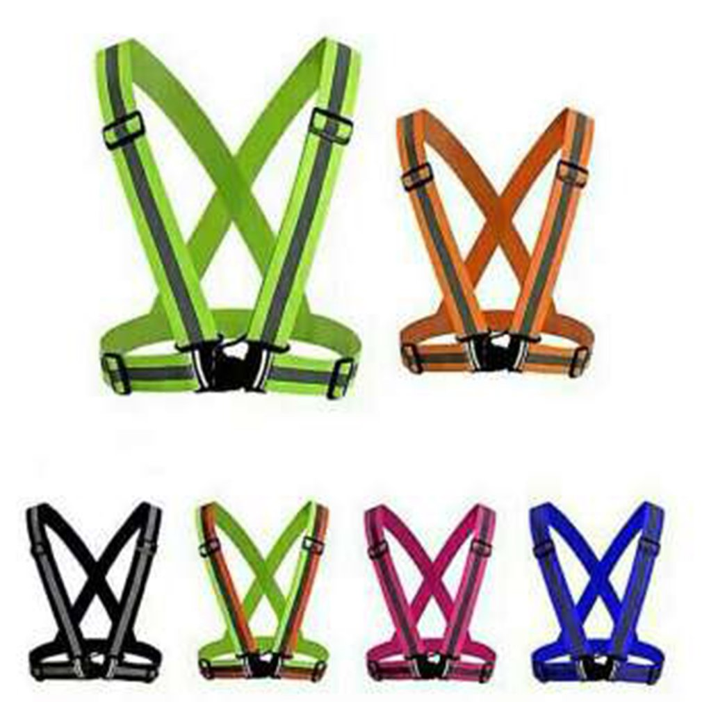 Elastic Straps Night Running Reflective Strap Protective Vest Clothing Riding Driving