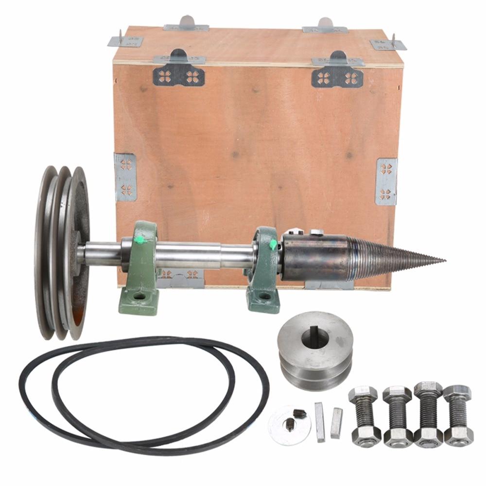 Tools : Dia85mm electric firewood breaker High-efficiency small tool wood splitting drill Log Splitters firewood splitting artifacts set