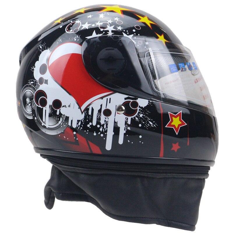 La cáscara del ABS del casco de la motocicleta del niño del GSB - Accesorios y repuestos para motocicletas - foto 5