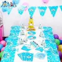1d582c7a3 Lujo 90 unids lote New Kids decoración set cumpleaños bebé Prince Crown  tema Fiesta cumpleaños del bebé paquete en Desechable Vajilla de Hogar y  Jardín en ...