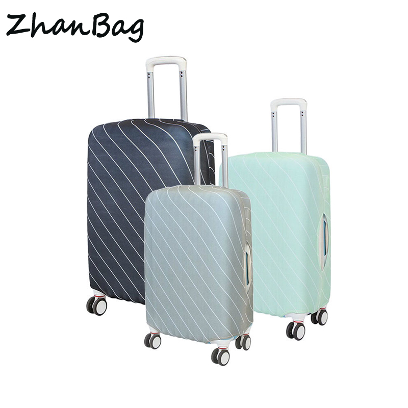 Luggage Protective Cover Elastic Dustproof Cover For Suitcase Apply 18-30 Inches Trip Travel Accessories Trolley Protector Z84