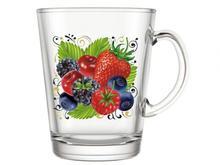 Кружка для чая ДЕКОСТЕК, Ягодный фреш, 250 мл