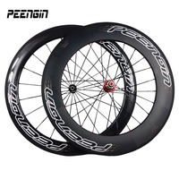 Newest cycling rim 23mm Width 60mm&88mm Carbon Bicycle tubular Wheelset 700C Road monocoque racing wheels better bike component