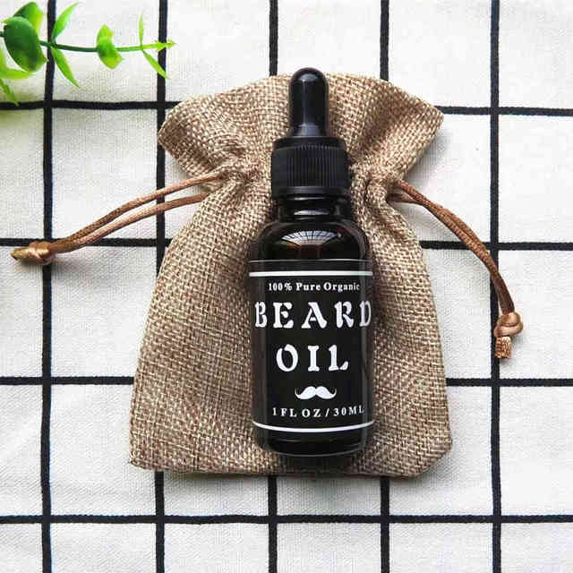 Preboily Men's Beard Oil, 100% Pure Blend of Natural Ingredients: Conditioner that Promotes Awesome Beard Growth, Stops Itching