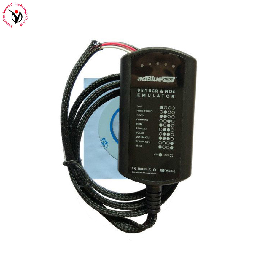 Universal Adblue Emulator 9 in 1for Mercedes Benz MAN S-Cania L-veco