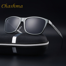 CHASHMA  Brand Polarized Sunglasses Men's Aluminum Magnesium Frame Car Driving Sun Glasses  Polarised  Gafas Goggle Style Eye knockout polarised sunglasses
