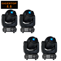 Discount Price 4PCS Gobo 90W Led Moving Head Spot Light TP L606D New Case New Function