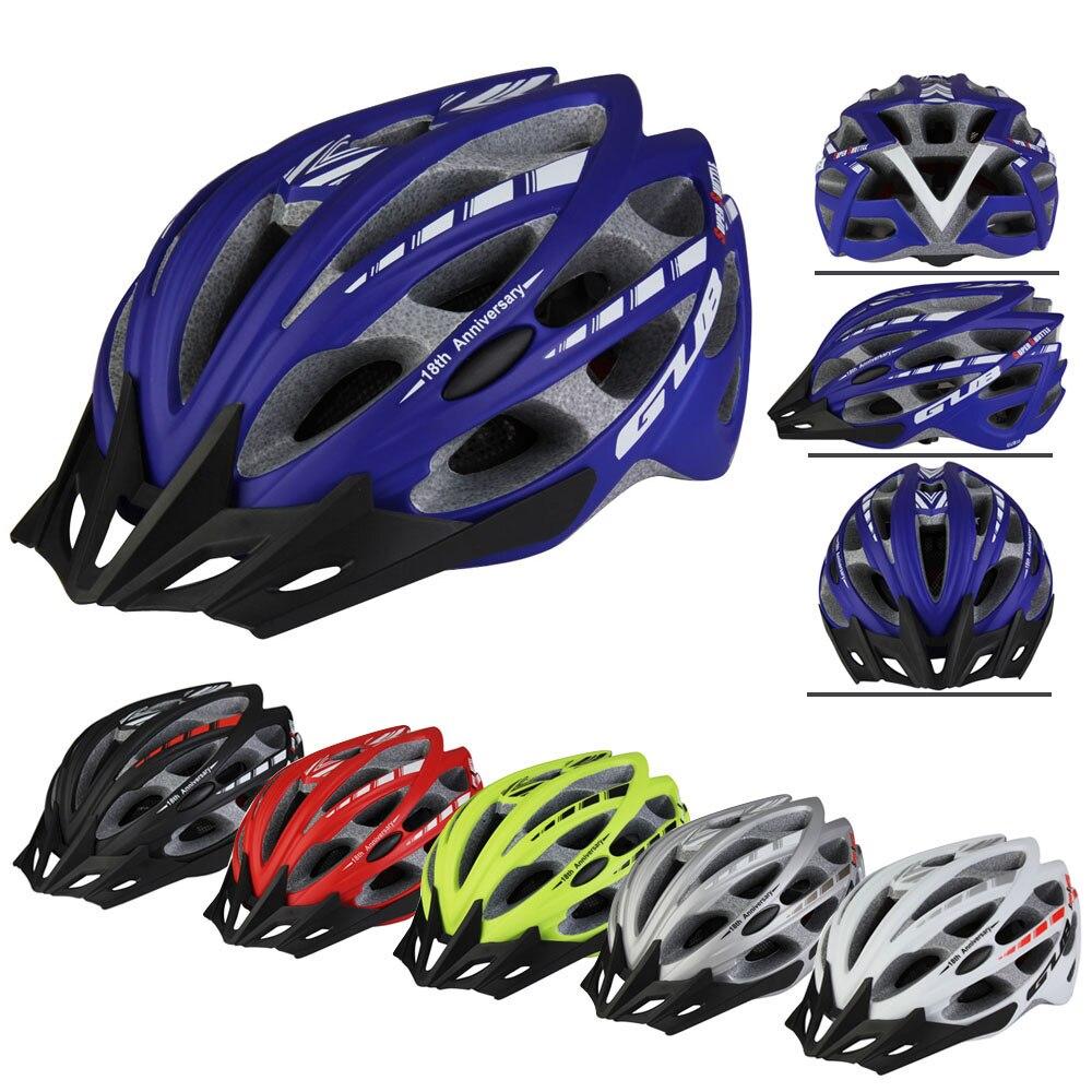 Цена за Высокое Качество MTB Велоспорт Защитный Шлем GUB СС Супер Трансфер Открытый Велосипед Велоспорт EPU Шлем 57 ~ 61 см LB SS